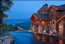 Dream Home on the Water / seaside, lake and creekside places with interior and exterior ideas and inspirations / by C Kirby