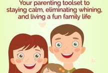 Happy parenting / Zen parenting, happy family, parenting tips, raising small children, cooperative toddlers, family life, change your life, positive habits