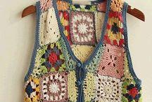 Blusas de tricô e crochê
