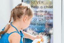 Quotes - Embrace the Child / Maria Montessori quotes and more...