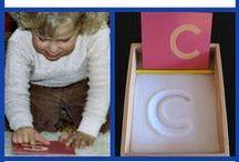 Montessori Language / Ideas for teaching Montessori language arts to children