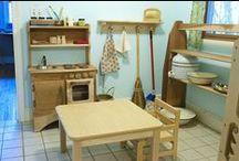 Montessori Home Set-up / Beautiful ideas for Montessori home set-up