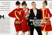Moschino 2014 AW Editorial-1 / McDonalds Inspired Knitwear by Jeremy Scott