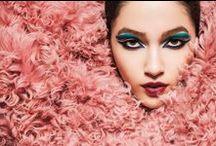 Gucci 2014 AW Editorials -3 / Baby Pink Shearling Coat