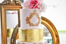 Golden Touch Wedding Cakes