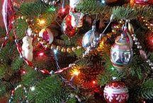 Vintage Style Christmas Trees