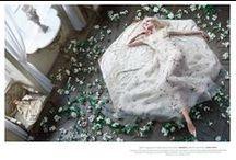 Valentino 2015 SS Editorials / Cream Colored Starfish Sheer Mesh Dress