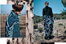 Ashish 2014 AW Editorials / Giant Ruffled Denim Jeans
