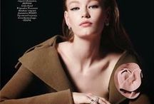 Céline AW 2014 Editorials -2 / Olive Low-Twist Top