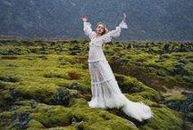 Alexander McQueen 2014 AW Editorials / Victorian Fancy White Dress