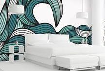 ๑ decoikea ๑ ✧ stencil ✧ / ✎ (art & patterns)  printed patterns for textiles and walls ✎  / by ika tawa