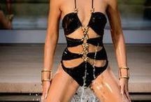 Dsquared2 2015 Resort Editorials /  Sexy Cutouts Swimsuit