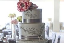 Touch of Silver Wedding Cakes