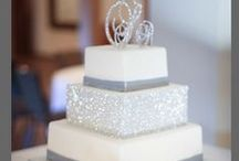 Wedding cakes with a Sparkle