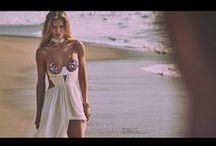 Tom Ford 2015 SS Editorials /  Nipples Sparkle White Maxi Dress