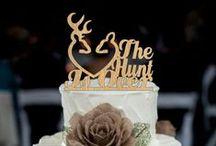 geyik düğün pastası Kaban / wedding cake topper, Personalized cake topper, wedding decoration, cake decor, cake topper, rustic weddin cake topper