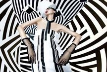 Chanel 2015 SS Editorials -2 / Piano Key-Print Cocktail Dress