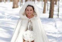 Winter Wedding / dresses, flowers, cakes, table and room decorations and much more