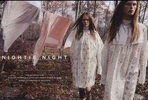 Christian Dior 2015 SS Editorials -2 / Edwardian Embroidered Turtleneck Cotton Shirt-Dress