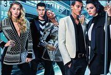 Balmain x H&M 2015 Fall Editorials -1 /  Beaded Velvet Jacket