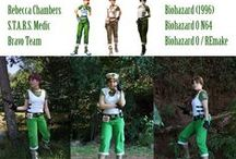 Rebecca Chambers Cosplay / My cosplay of Rebecca Chambers from various Resident Evil / Biohazard video games - basic and alternate costumes :)