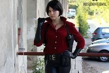 Ada Wong Cosplay / My cosplay of Ada Wong from various Resident Evil / Biohazard video games - basic and alternate costumes :)