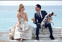 Dolce & Gabbana 2015 AW Editorials -1 / Children's Hand Painting in White Gown