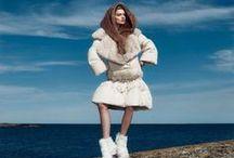 Fendi 2015 AW Editorials -1 /  Oversize Down Jacket With Big Fur Collar