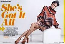 H&M Studio Fall 2015 Editorials /  Beaded Turtleneck Sweater