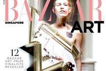 Viktor & Rolf Couture 2015 AW Editorials / Wearable Art One-Shoulder Dress