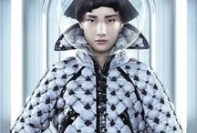 Chanel 2015 AW Editorials -1 / Silver Bomber Down Jacket