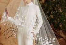 bold brides / A little bridal inspiration for brides who want to go  above and beyond the typical wedding day ensemble.