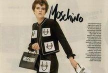 Moschino Resort 2016 Editorials -1 / Paper Bags Pockets Cardigan