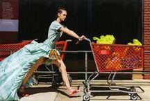 Roberto Cavalli 2016 SS Editorials -1 /  Tie-Dye Silk Taffeta Waterfall Skirt (High Low Skirt)