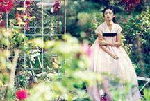 Chanel Cruise 2016 Editorials -1 / Korean Hanbok Gown