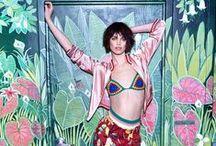 Tommy Hilfiger 2016 SS Editorials -1 / Multi-Coloured Crochet Bikini