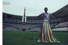 Missoni 2016 SS Editorials / Stripe Crochet-knit Polo Shirt