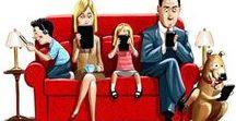 """""""Acompañado pero sólo: hábitos con el celular"""" / Los actuales hábitos del uso del celular, tecnologías en general y redes sociales están causando alteraciones graves en las relaciones interpersonales, es debido que hago este tablero en el que evidencio lo problemático de esta situación y busco soluciones, ya sean brindado herramientas sociales o generando nuevos hábitos y eliminando no destructivos."""