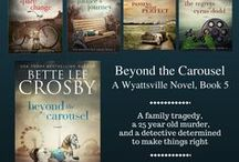 Wyattsville Series / Spare Change, Jubilee's Journey, Passing through Perfect, Regrets of Cyrus Dodd. Available on Amazon, Nook, Kobo, iBooks, Googleplay at betteleecrosby.com