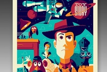 Cool movie art / A great piece of film-inspired work can be a truly beautiful piece of art. / by Paul Nicholas Carlson