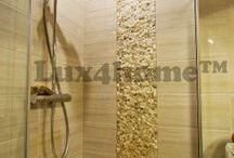 Okładziny z kamienia / Okładziny z kamienia naturalnego. Projekty wnętrz i łazienek z kamieniem.