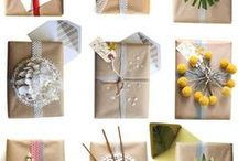 Creative christmas wrappings / December at the craft cafe