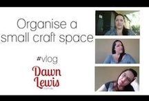 Craft Vlog Videos / Craft vlogs with professional crafter Dawn Lewis, talking about ways to save time, save money, make money and invest in yourself as a creative person.