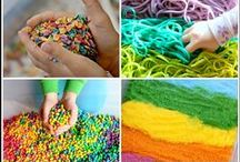 Sensory Activities for Early Learners / Hands on activities for children.