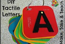 The Alphabet for Early Learners / Fun and educational ideas for encouraging letter mastery