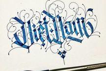 PG / caligraphy