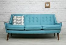 Sofa inspiration / Sofa research - does a really nice affordable mid-century modern sofa that is soopa comfy really exist?  Possibly not but I'm going to try anyway...