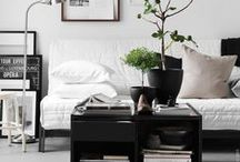 #IKEA interiors / Beautiful #IKEA interiors / by CoverCouch - Custom IKEA covers