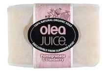Cranberry and Pomegranate / This Olea Juice™ Pomegranate & Cranberry contains our unique high quality of Extra Virgin Olive Oil that treats all your body with exceptional caring. Once you wash your body with this bar soap, you will embrace the luxurious feeling of the pomegranate extract and aroma.