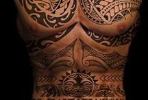 Polynesian Tattoos / Polynesian tattoos are full of symbolic meaning and vary from an island to another. Would you ever get one done here?
